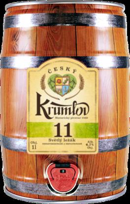 Pivo, Světlý ležák 11, Český Krumlov
