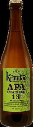 Krumlov 13 APA AMARILLO, 5,5% alk., sklo 0,7l