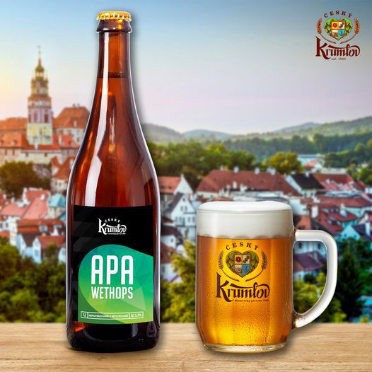 Krumlov 13 APA AMARILLO, 5,3% alk., sklo 0,7l